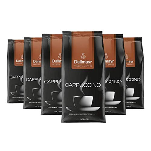 Dallmayr Cappuccino 1kg für Automaten, 6er Pack