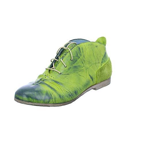 Simen Damen Schnuerschuhe 1507A GRÜN grün 613536