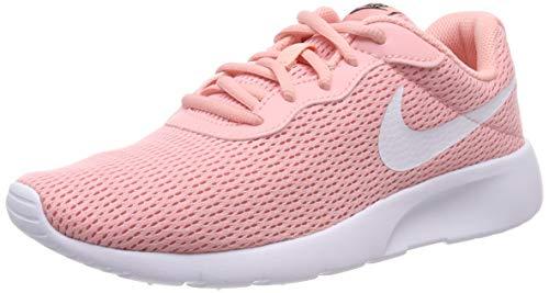 Nike Tanjun (GS) Shoe, Scarpe da Running Uomo, Multicolore (Bleached Coral/White/Black 605), 38.5 EU