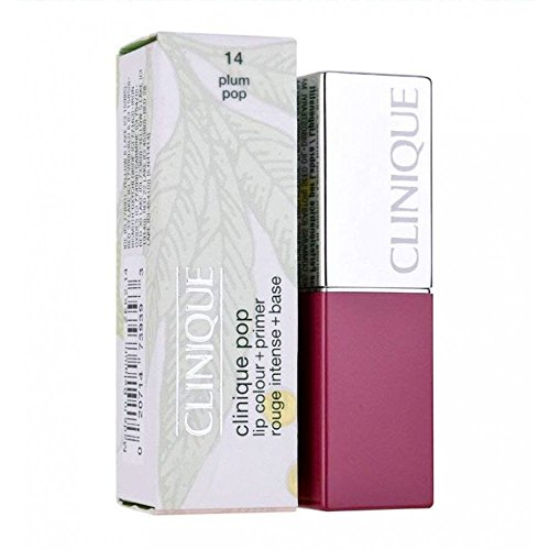 CLINIQUE Pop Lip Colour and Primer 14 Plum Pop 2.3g Travel Siz