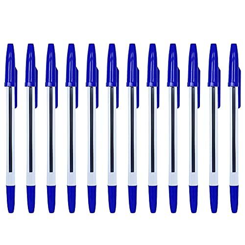 50 unids bolígrafo Pluma retráctil Gel bolígrafo Pluma Punto Punto Medio 0,7 mm Liso Escritura bolígrafos Azul Tinta