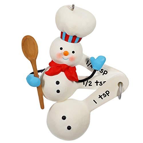 Hallmark Keepsake Christmas 2019 Year Dated Cuteness Beyond Measure Baking Snowman Ornament
