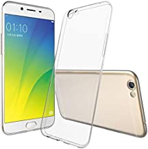 OPPO A59 (F1S) TPU Silicone Clear Case Back Cover By Muzz