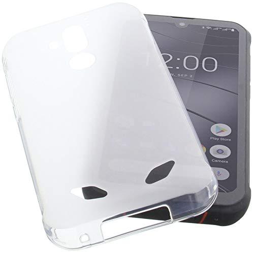 foto-kontor Hülle für Gigaset GX290 Tasche Gummi TPU Schutz Handytasche transparent