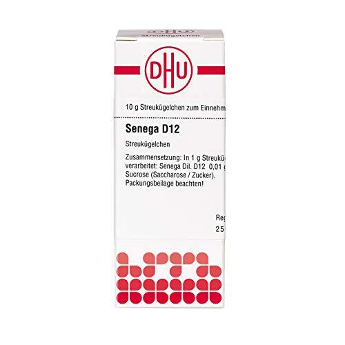 DHU Senega D12 Streukügelchen, 10 g Globuli