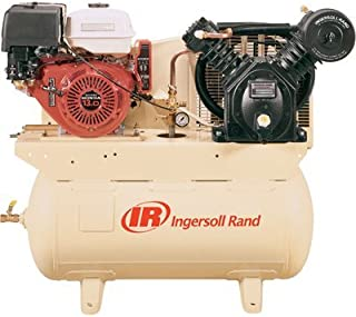 Ingersoll Rand 25 CFM @ 175 PSI, 13 HP Horizontal Air Compressor with Alternator
