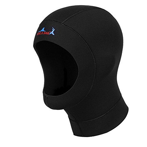 A Point diving Suits 3mm Dryhood Flex Wetsuit Vented Hood (L)
