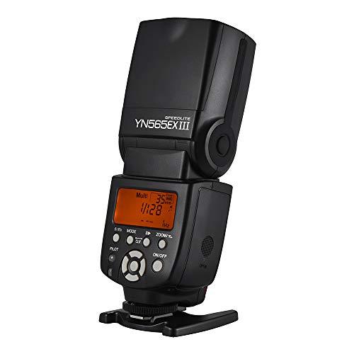 YONGNUO YN565EX III Wireless TTL Slave Flash Speedlite GN58 Sistema de reciclaje de alta velocidad compatible con USB Firmware Upgrade para Canon DSLR Camera