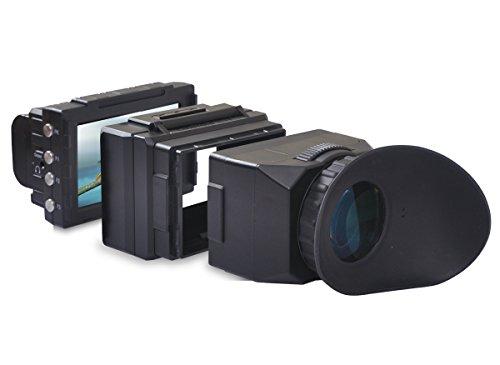Cineroid EVF4CHE elektronischer Sucher für Kamera, schwarz
