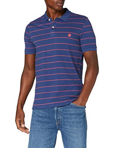 Springfield Herren Fr Raya Slim-c/13 Poloshirt, Blau (Medium_Blue 13), X-Large