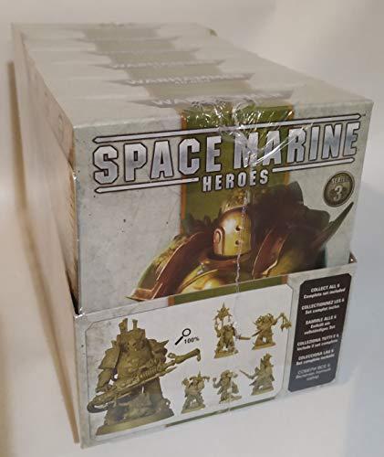 Games Workshop Warhammer 40.000 Miniaturen Space Marine Heroes Serie 3 Display (6Stk)