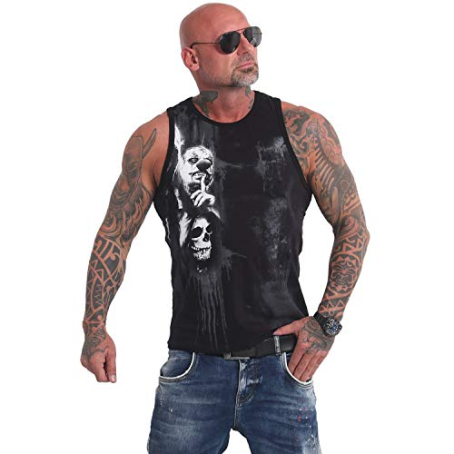 Yakuza Herren Waiting Death Tank Top T-Shirt