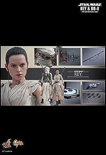 Hot Toys MMS337 - Marvel - Star War - Rey & BB-8 1 6 - Officiel