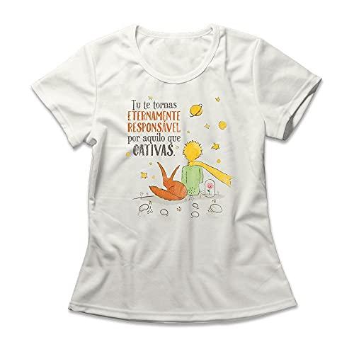 Camiseta Feminina O Pequeno Príncipe