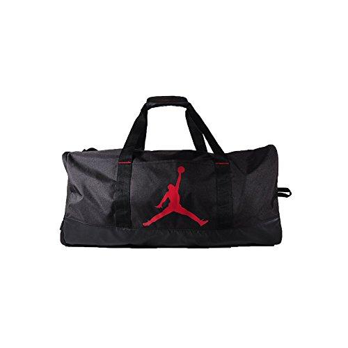 Nike Air Jordan Jumpman Trainer Duffel GYM Bag (Black/Gym Red)
