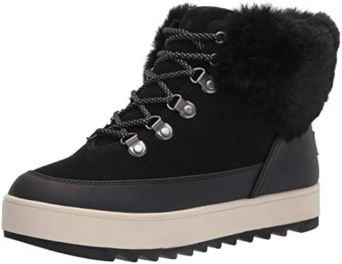 Koolaburra by UGG womens Tynlee Lace up Snow Boot Black 7 US product image