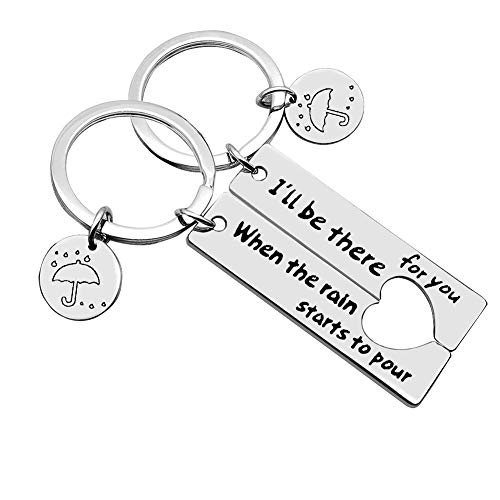 Couple Keychain Best Friend Keychain I