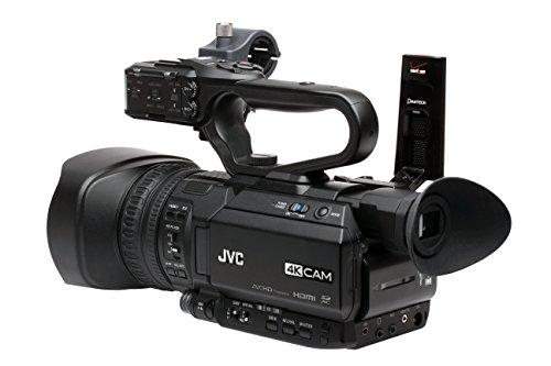 JVC GY-HM180U Camcorder, 3.5', Black