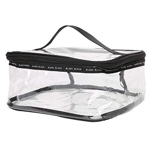 Jinxuny transparante PVC reistas cosmetische make-up toilettas zak zak met rits waterdichte plastic cosmetische tas make-up tas organizer zakjes tas tas tas tas tas tas tas tas tas