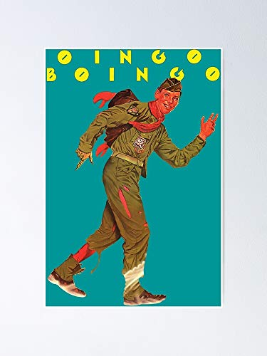 """Oingo Boingo - Just A Lad Poster 12.75"""" X 17"""" Inch No Frame Board for Office Decor, Best Gift Dad Mom Grandmother and Your Friends"""