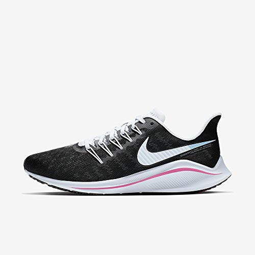 Nike Women's Air Zoom Vomero 14 Running Shoe Black/Hyper Pink/Football Grey Size 8 M US