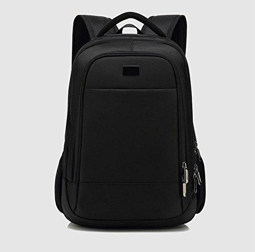 beibao shop Backpack - Grande capacité Ordinateur Sac à Dos Imperméable Résistant à l'usure Étudiant Sac d'école Contient Prise USB, Black