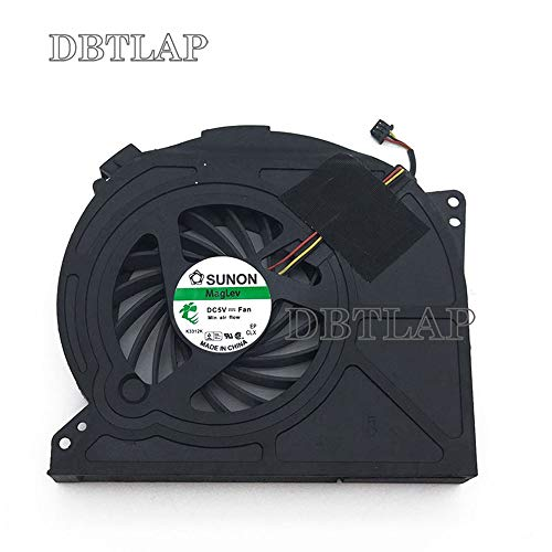 DBTLAP Laptop CPU Fan Compatible for MSI GE70 Series Notebook PAAD0615SL 3pin 0.55A 5VDC N039