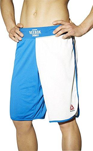 Reebok Train Like A Fighter - Pantalones cortos de boxeo, color azul