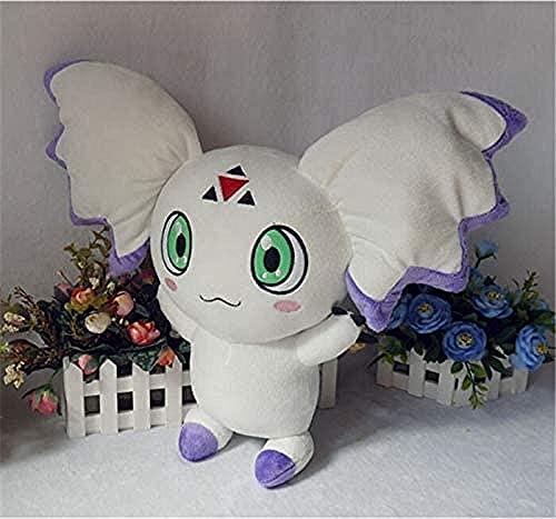 Monster Digimon Digital Anime Toy Kurumon Peluche de Peluche 40 cm High Llush Doll Puppy Cosplay Pad