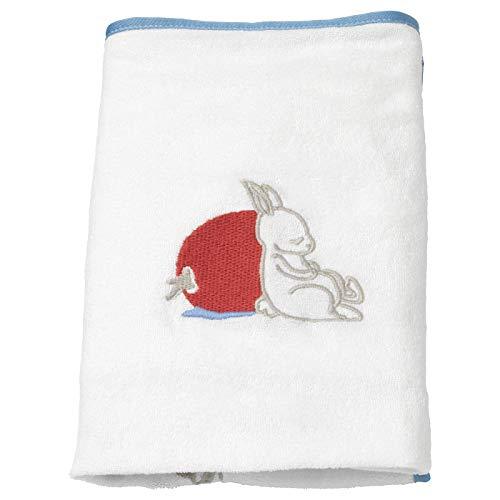 My- Stylo Collection Bezug für Baby-Pflegematte, Kaninchenmuster, weiß, langlebig, harmlos, waschbar, Produktgröße: Länge: 74 cm, Breite: 48 cm