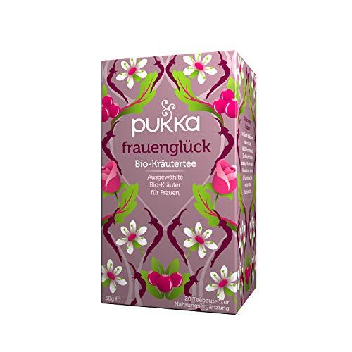 Pukka Bio Tee Frauenglück 20 Beutel, 4er Pack (4 x 40 g)