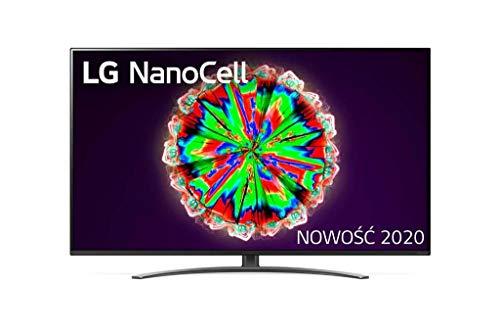 LG Nanocell 49 Zoll 4K 49NANO813NA Smart TV Europa Black