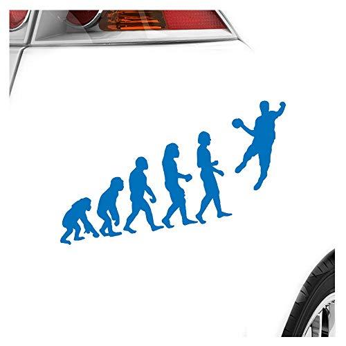 KIWISTAR Aufkleber - Evolution Handballer - Autoaufkleber Sticker Bomb Decals Tuning Bekleben