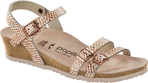 Papillio Mermaid - Tongs en laine mérinos - Pour chaussures - Cuir - Blanc - Crème, 38 EU EU