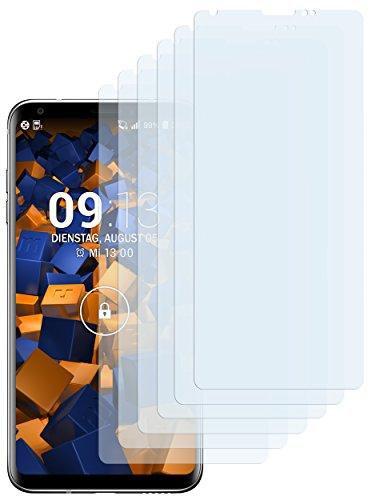 mumbi Schutzfolie kompatibel mit LG V30 Folie, V30S ThinQ Folie klar, Bildschirmschutzfolie (6X)