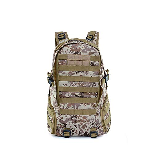 LINPAN Outdoor Sport Daypack Bag45L Waterproof Camping Hiking Bag Army Military Tactical Backpack Sports Traveling Bagfor Travelling Walking Cycling Hiking (Size:50cm X 30cm X 30cm; Color:E)