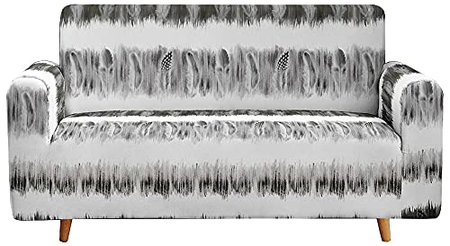 Funda de sof Elasticidad,Funda de sofá Moderna, Fundas de sofá de patrón Elegante para sofá de 3 Cojines Protector de Muebles Duradero Funda de sofá de 1 Pieza-C_190-230CM