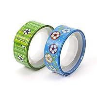 サッカー グラシアス 2個セットでお得! オリジナルマスキングビニールテープ(ミニ) サッカー柄