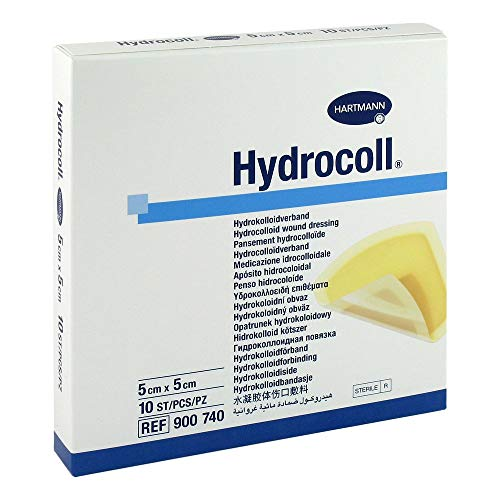 hydrocoll–Apósito hidrocoloidal (5x 5cm, 10St