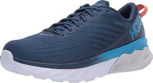 HOKA ONE ONE Men's Arahi 4 Running Shoes, Blue-Navy Blue, 11 US