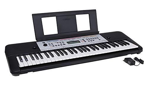 Yamaha YPT260 61-Key Portable Keyboard with Power Adapter (Amazon-Exclusive) (Renewed)