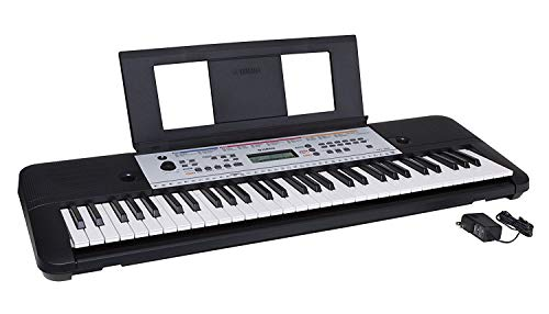 Yamaha YPT260 61-Key Portable Keyboard with Power Adapter (Amazon-Exclusive) (Renewed)