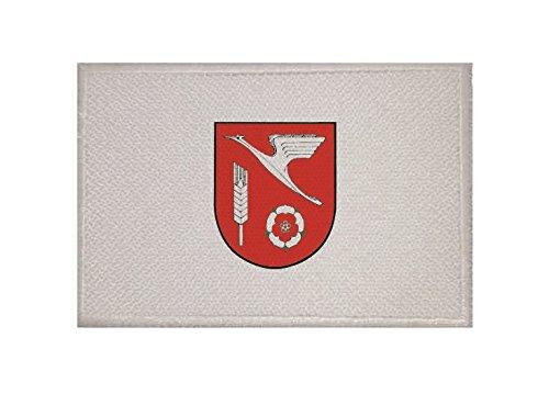 U24 Aufnäher Appen Fahne Flagge Aufbügler Patch 9 x 6 cm