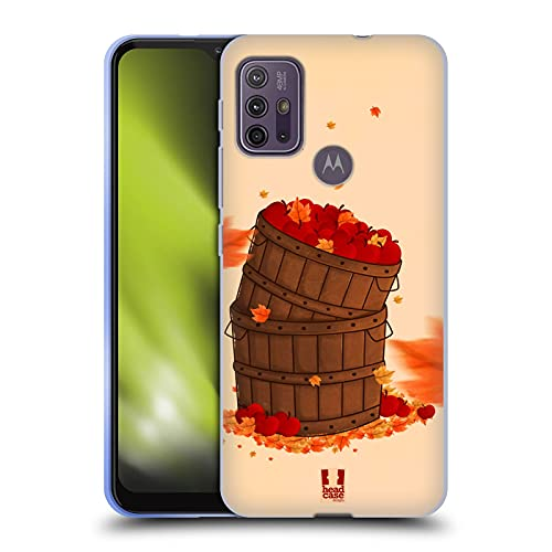 Head Case Designs Fruit Basket Automne Coque en Gel Doux Compatible avec Motorola Moto G10 / Moto G30