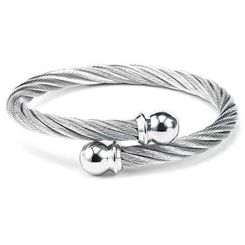 CHARRIOL New Celtic Jewels Bracelet Bangle 04-101-1216-0 Medium Unisex Jewelry