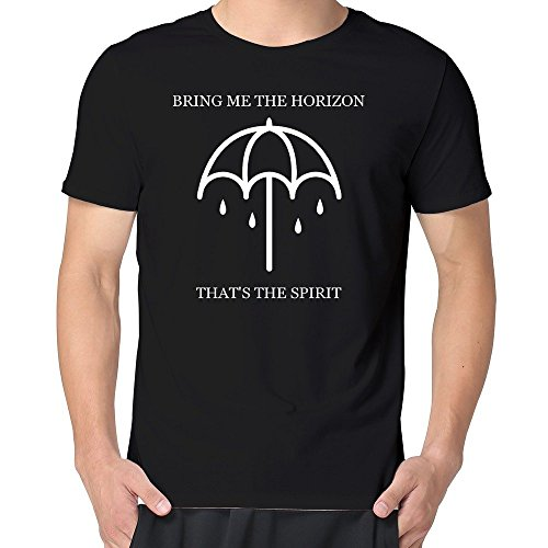 Yrewer Man Bring Me The Horizon That's The Spirit Tshirt 100% Cotton