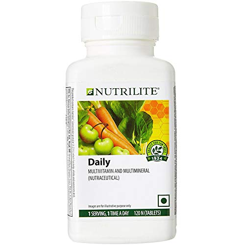 Amway Nutrilite Daily Multivitamin and Multimineral Tablet (120N Tablets)