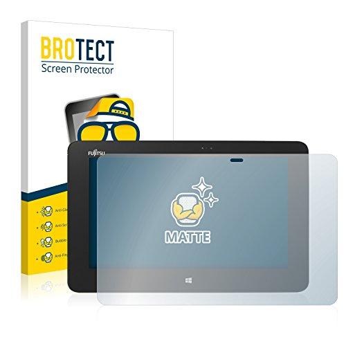 BROTECT 2X Entspiegelungs-Schutzfolie kompatibel mit Fujitsu Stylistic Q555 Bildschirmschutz-Folie Matt, Anti-Reflex, Anti-Fingerprint