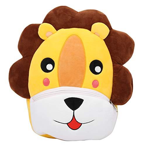 Top Hanging Loops Mochila para niños pequeños, bolsa para niños y niños pequeños (león)