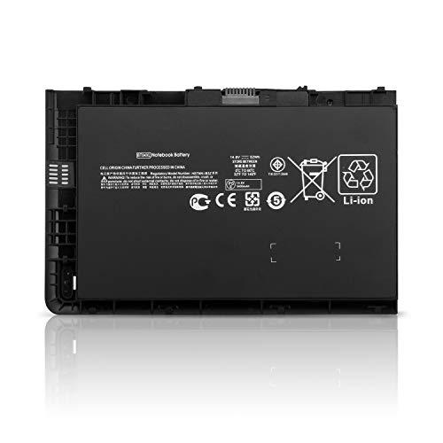 K KYUER 52Wh BT04XL Laptop Akku für HP EliteBook Folio 9470 9470M 9480M Ultrabook BA06 BA06XL H4Q47AA H4Q48AA BT04 HSTNN-DB3Z HSTNN-IB3Z HSTNN-I10C 687517-241 687945-001 687517-171 BT04052XL-PL